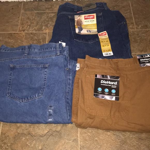 e2d02d60 Wrangler Jeans | Men Plus Size Pants New Size 50x2950x30 | Poshmark